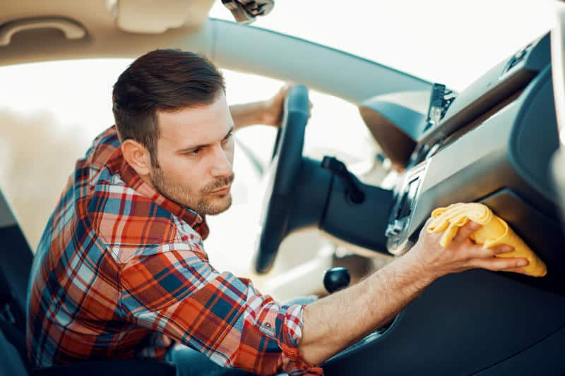 Household Products To Clean And Polish A Car Dashboard At Home