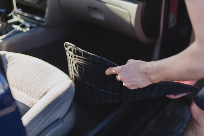 Clean a Car Carpet Without a Machine