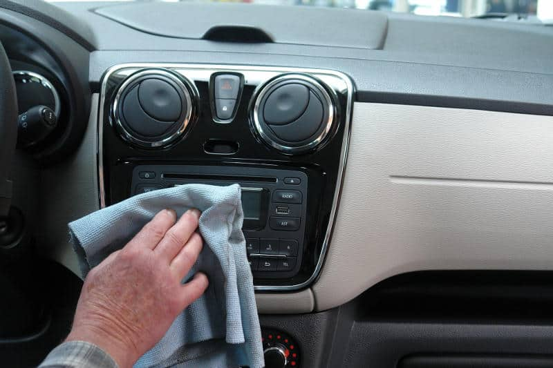 One way to protect the car interior is by cleaning it regularly.