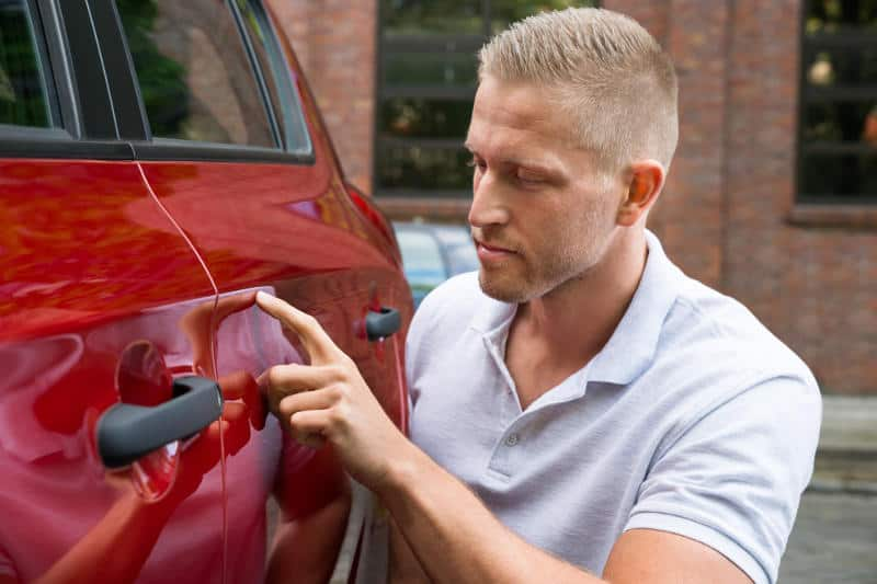 A guide to removing scratches from a car at home.
