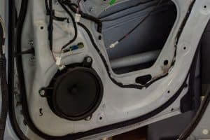 Step-by-step guide to fixing a blown car speaker.