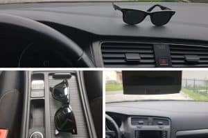Reviews of best sunglass holders for cars.