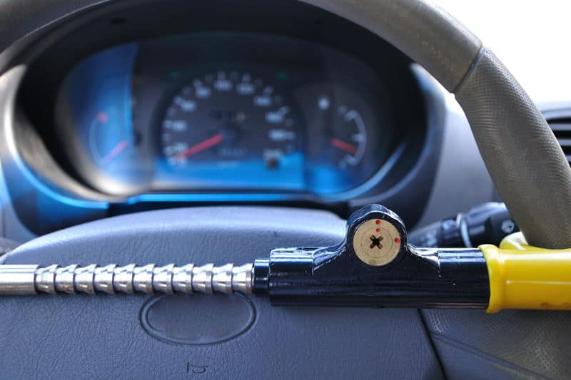 Best steering wheel locks and how to use them.