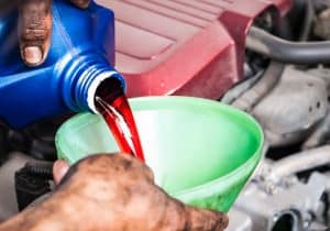 Add the best transmission fluid available.