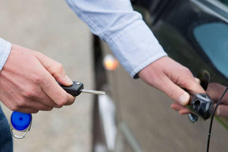 Why a car door won't lock.