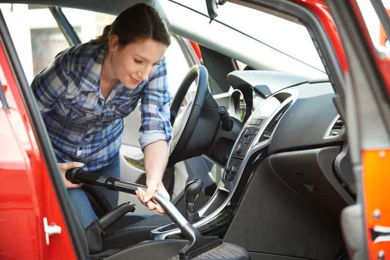How to clean cloth or fabric car seat the best way possible.