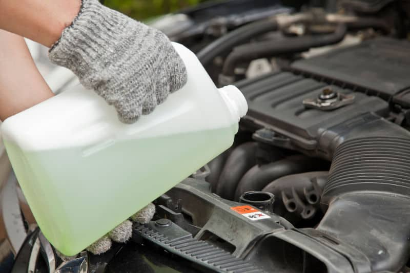 How to check and add coolant/antifreeze.
