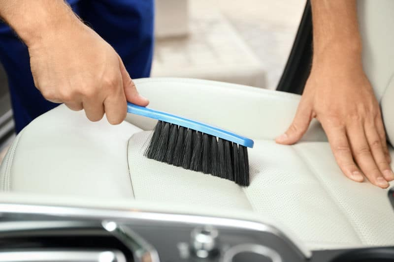 What are the best brushes for cleaning car seats and carpets.