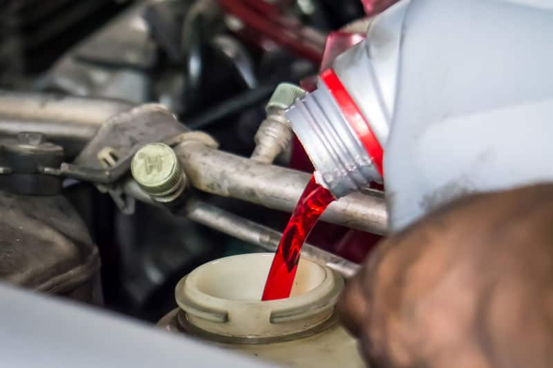 Low or bad transmission fluid symptoms.