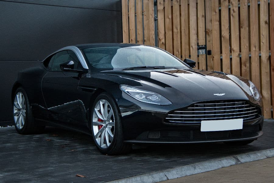 Car brand Aston Martin.
