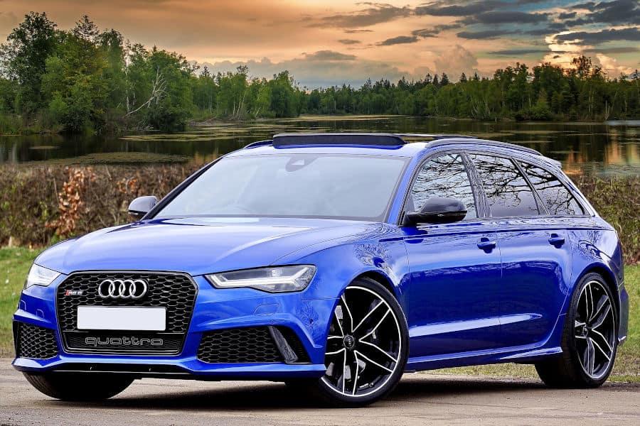Car brand Audi.