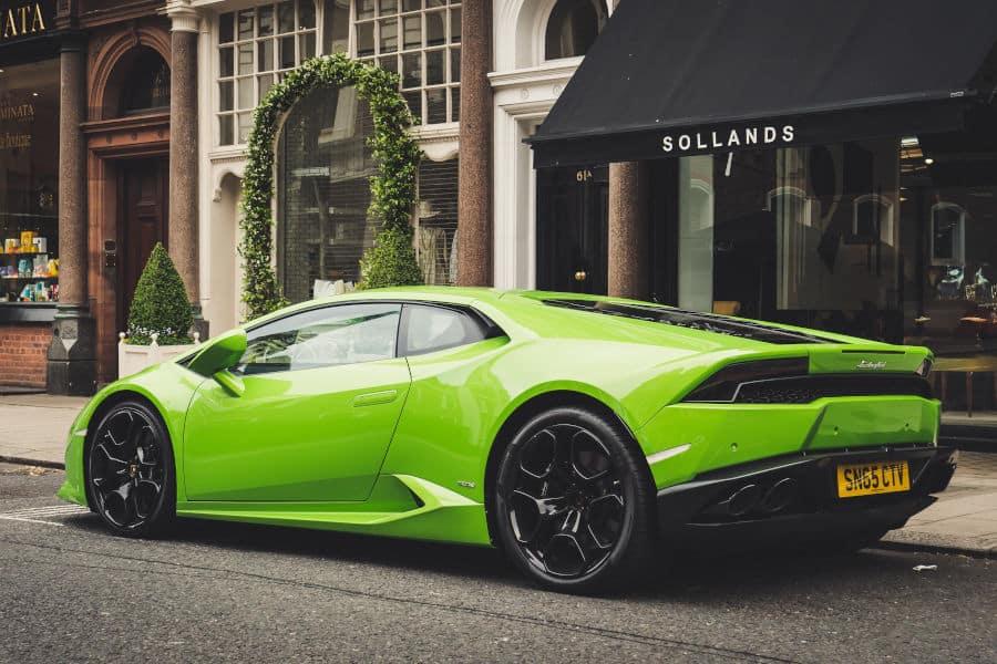 Car brand Lamborghini.
