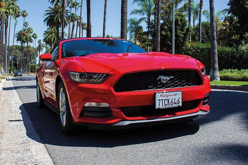 Sedan cars - Ford Mustang