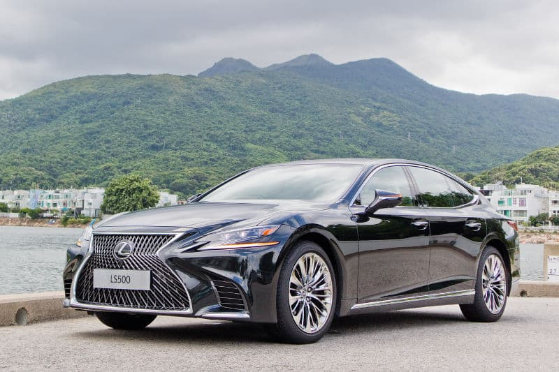 Coupe cars - Lexus LS