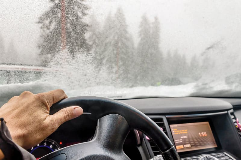 How to prevent car windows from fogging up in the winter.