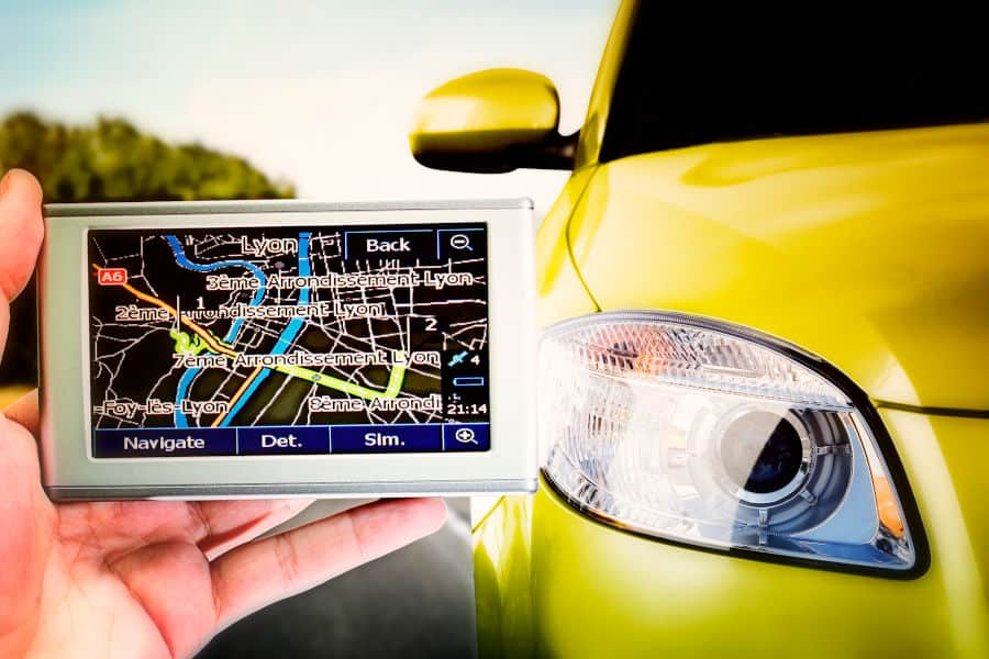 How to track a car location.