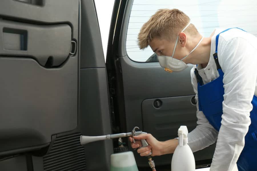 How to get rid of mold in your car.
