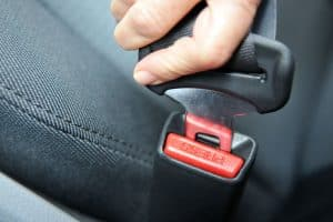 How to fix seat belt buckle.