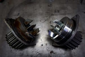 What are the signs of a bad or failing car water pump.