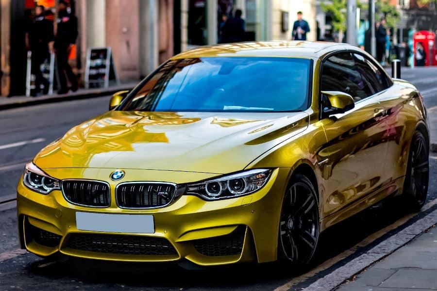 Car brand BMW.
