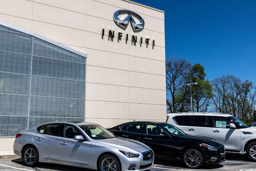 Car brand Infiniti.