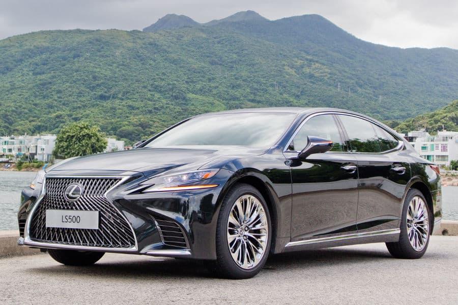 Car brand Lexus.