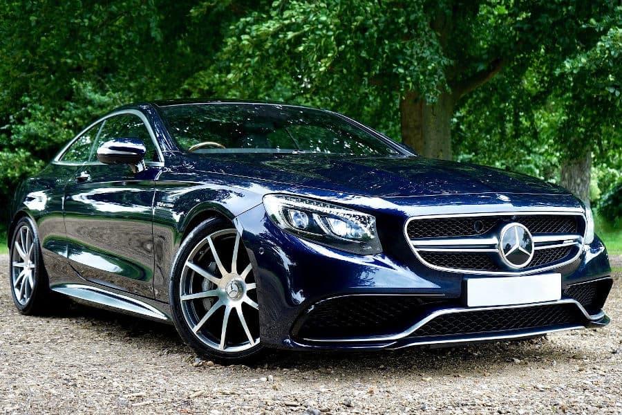 Car brand Mercedes.