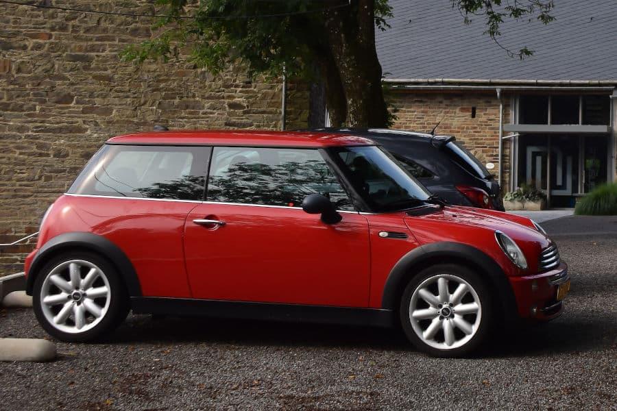 Car brand Mini.