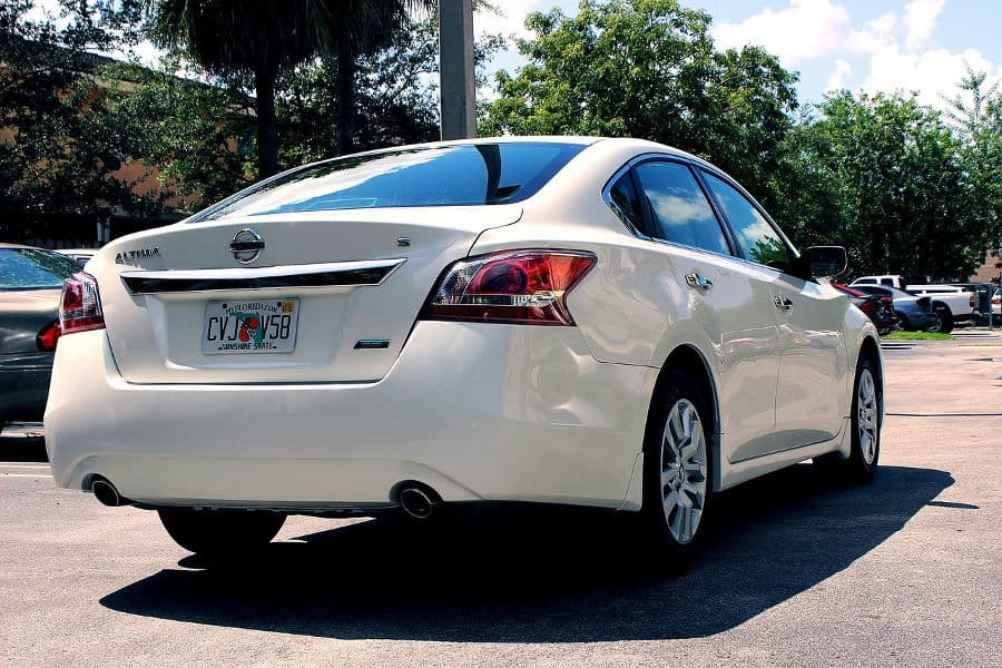 Car brand Nissan.