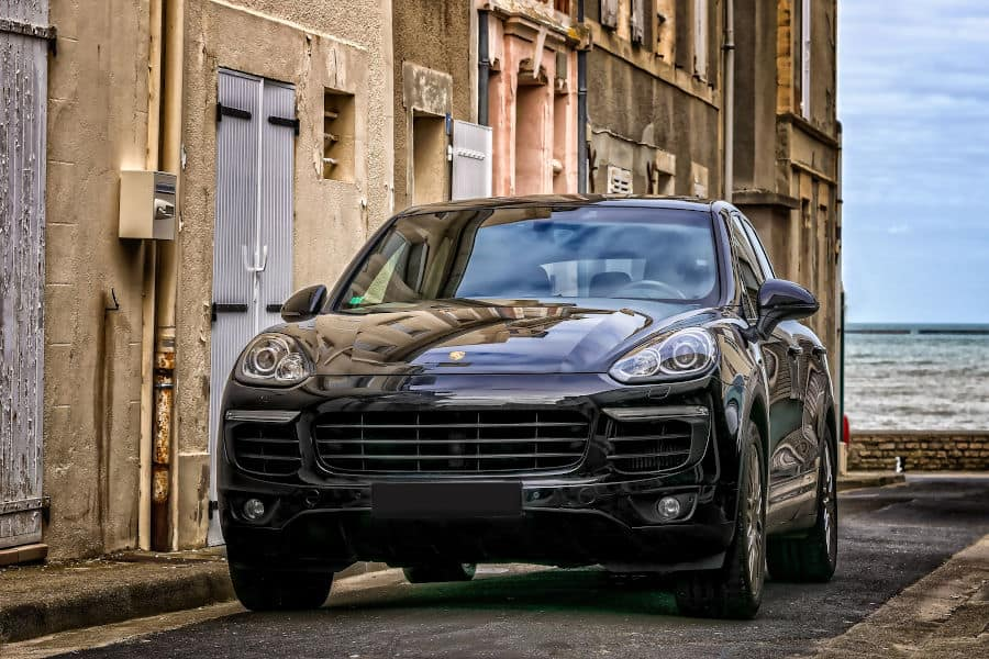 Car brand Porsche.