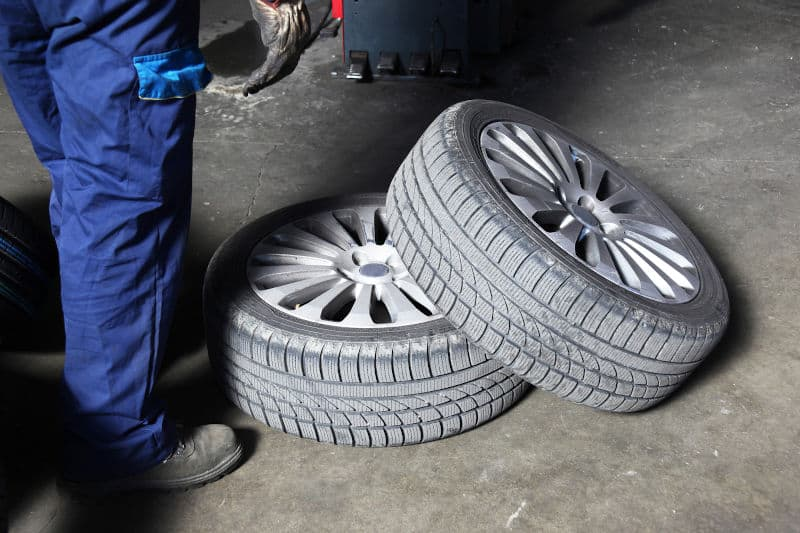 Tire rotations enable you to use the tires for a longer time.