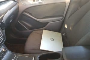 Precautions to keep your laptop cool in a hot car.