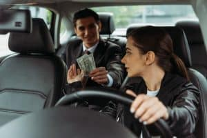 Payment options for Lyft and other rideshare companies.